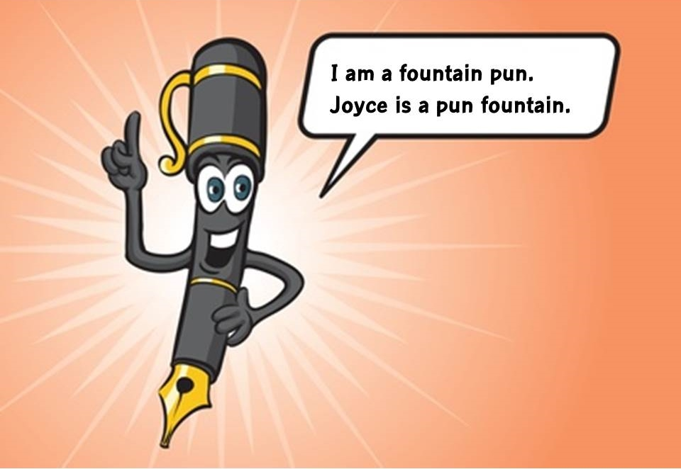 What are Joycean puns?