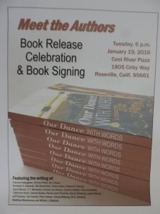 DancewWords Launch Flyer